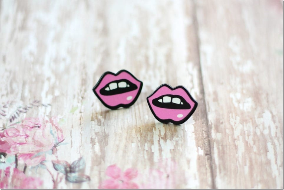 Lips For Your Ears ~ Jewelry ideas For Valentine's