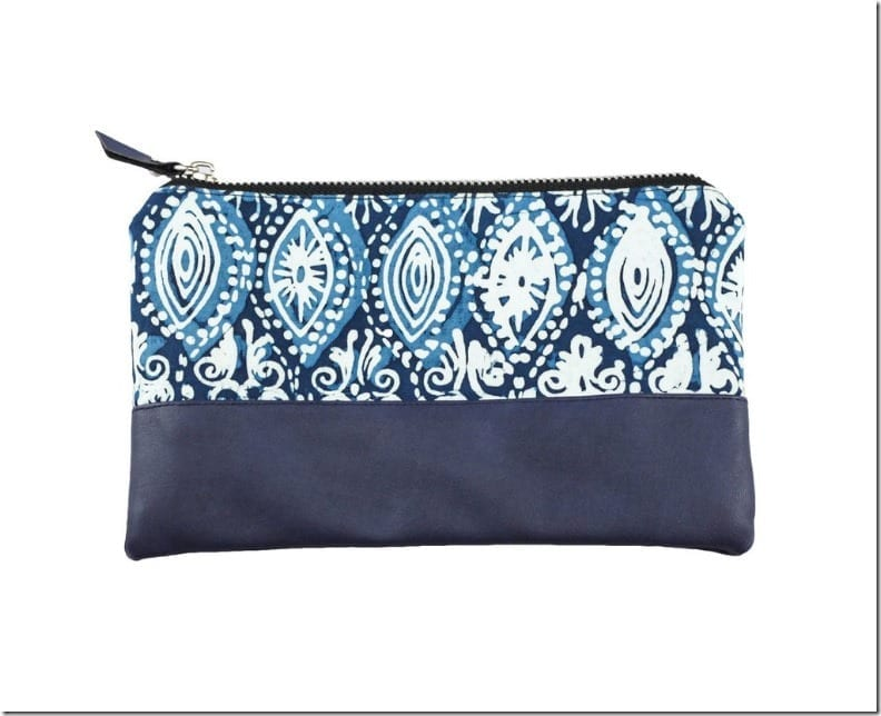 ocean-blue-peacock-batik-leather-pouch