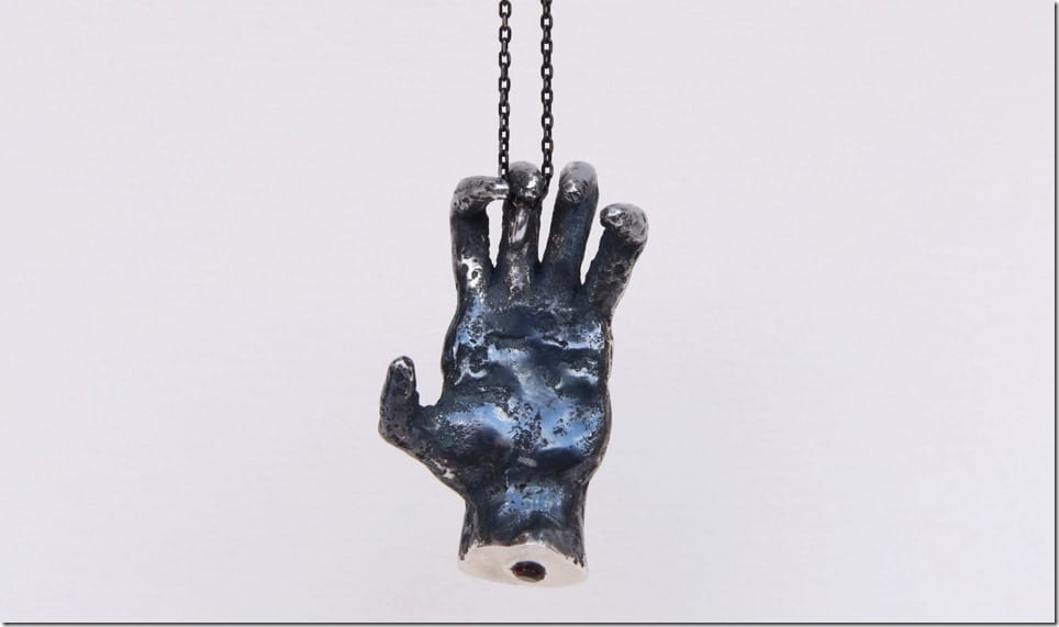 oxidized-silver-hand-pendant-necklace