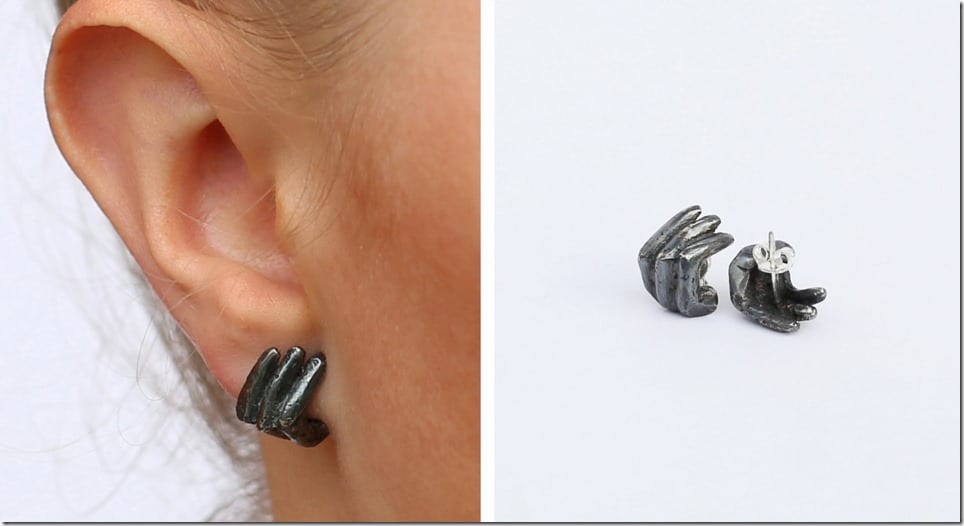 oxidized-sterling-finger-stud-earrings