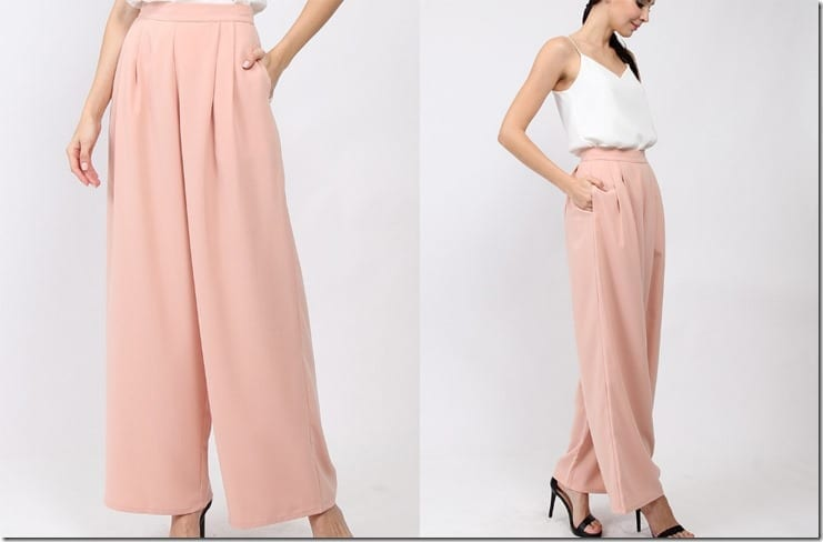 pleated-pink-palazzo-pants