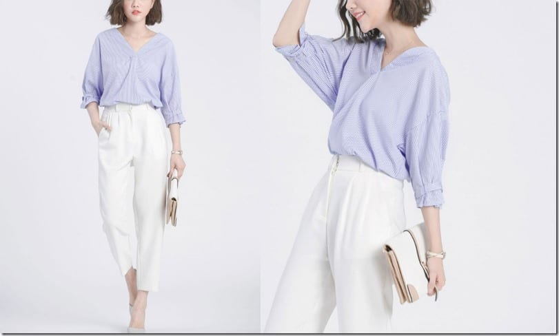 soft-blue-v-neck-stylized-sleeve-top