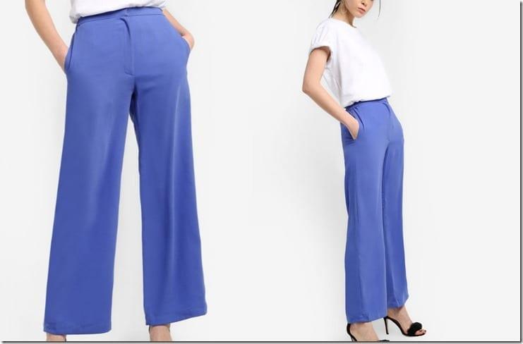 vibrant-blue-palazzo-pants