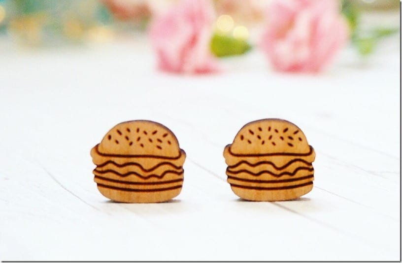 wooden-burger-stud-earrings