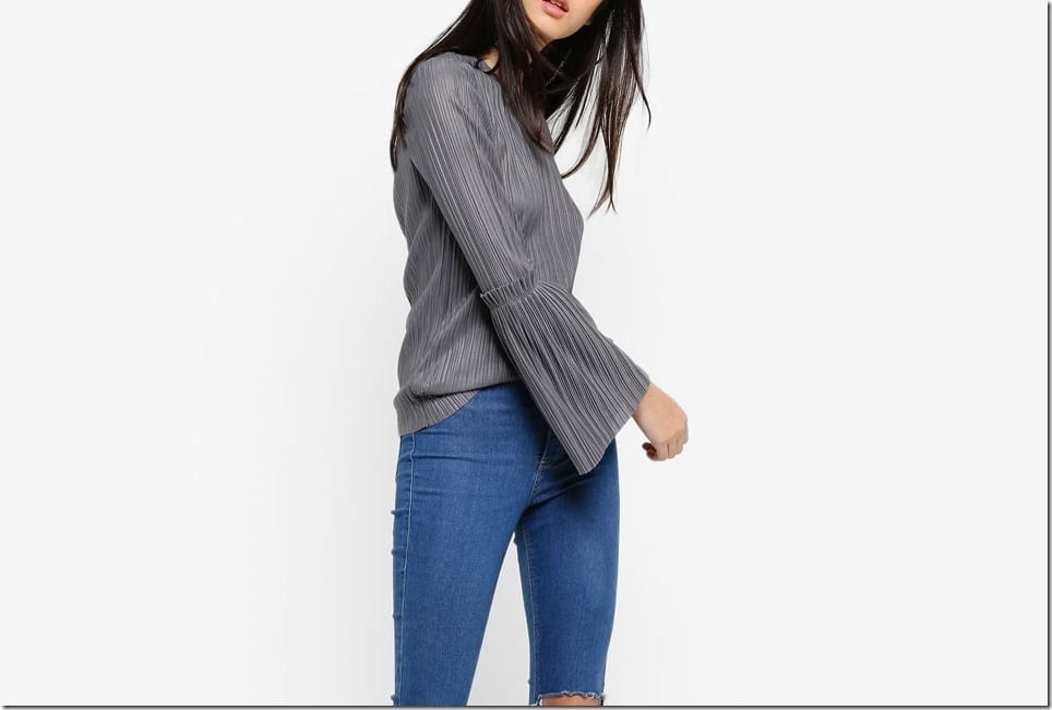 Modern Grey Blouse Ideas For Raya 2017 Fashion Inspiration
