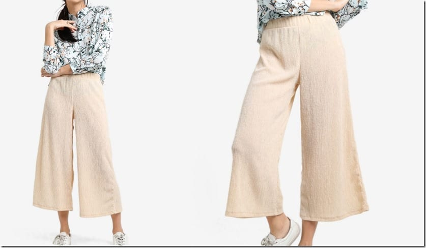 creamy-beige-textured-wide-leg-trousers