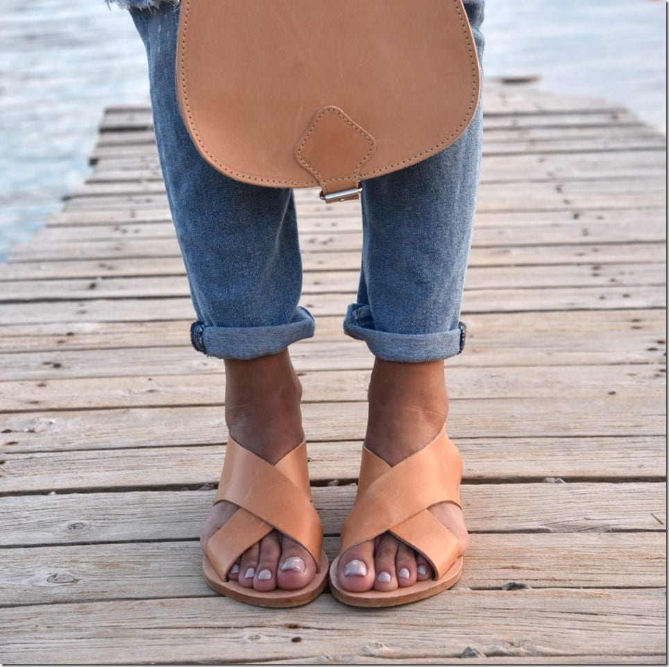 Free Your Feet In These Summer-Friendly Cross Strap Sandals
