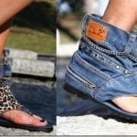 Fashionista NOW: Slip Your Feet Into Cozy Denim Statement Sandals + Free Your Toes
