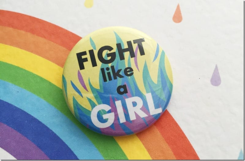 fight-like-a-girl-button-badge