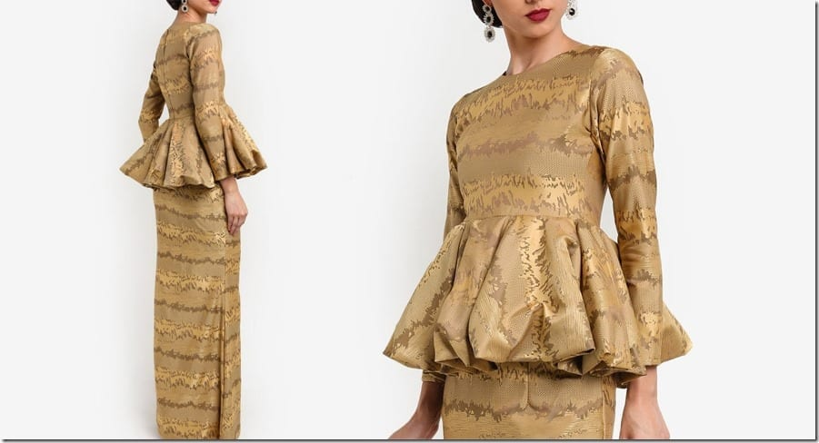 gold-abstract-folded-peplum-kurung