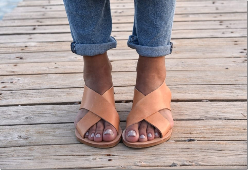 greek-leather-flat-sandals