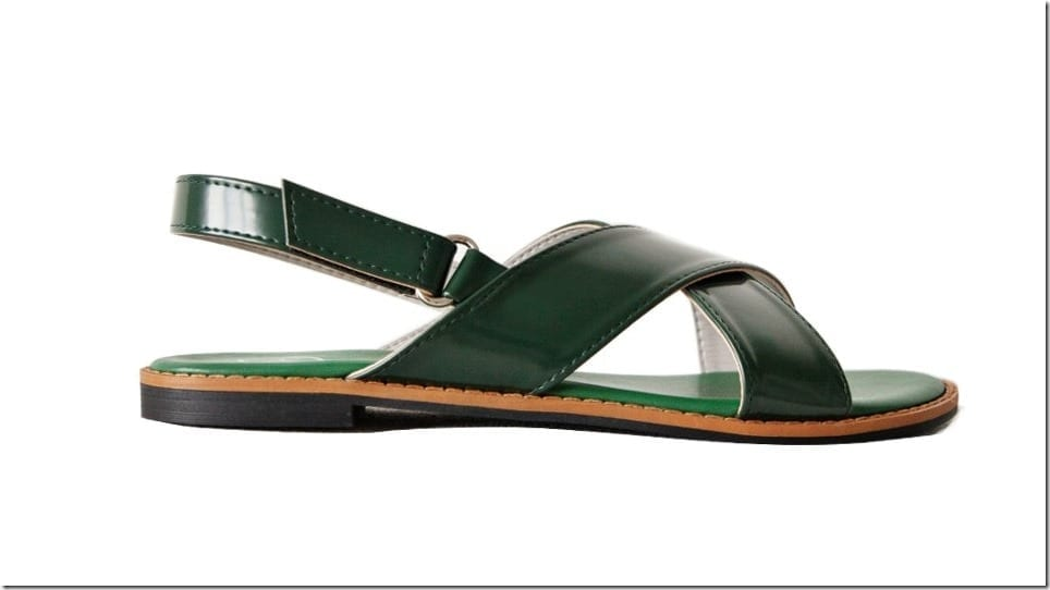 green-crossover-strap-sling-sandals