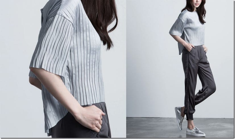 grey-back-split-pleated-top