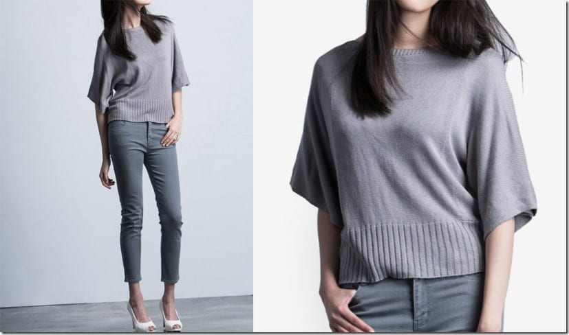grey-boat-neck-half-sleeve-knit-top