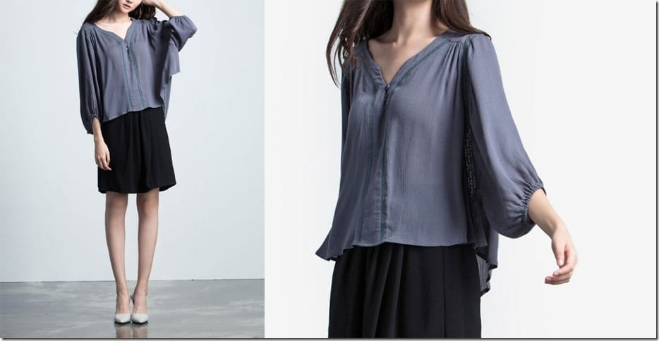 grey-flowy-lace-insert-blouse