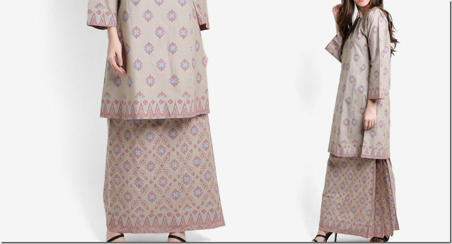 grey-songket-print-cotton-kurung
