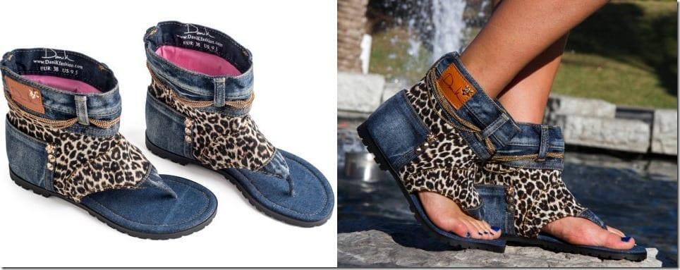 leopard-denim-sandal-boots