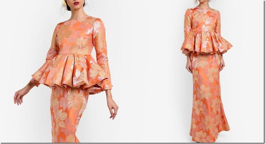 peach-gold-pink-folded-peplum-kurung
