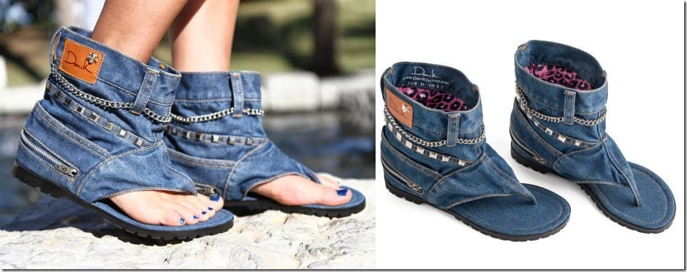 punk-denim-sandal-boot