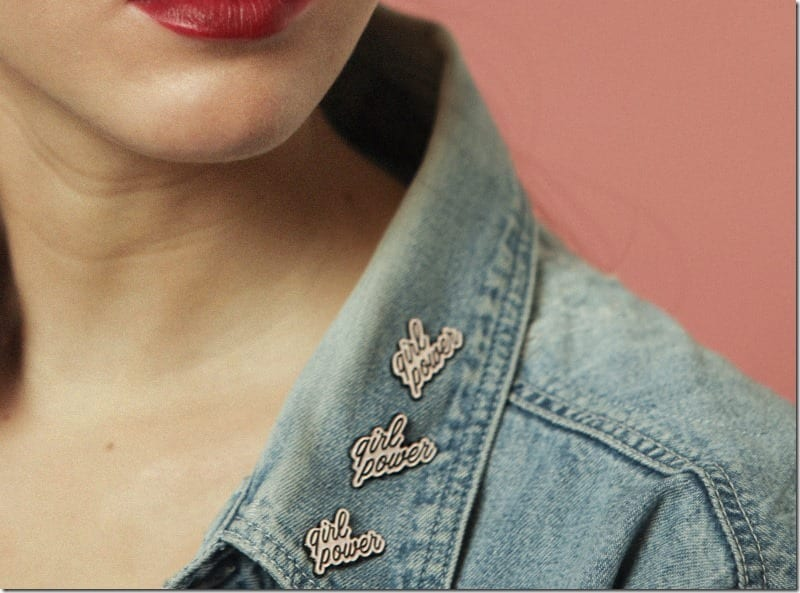 10 Women-Empowering Pins To Accessorize And Make A Bold Statement With
