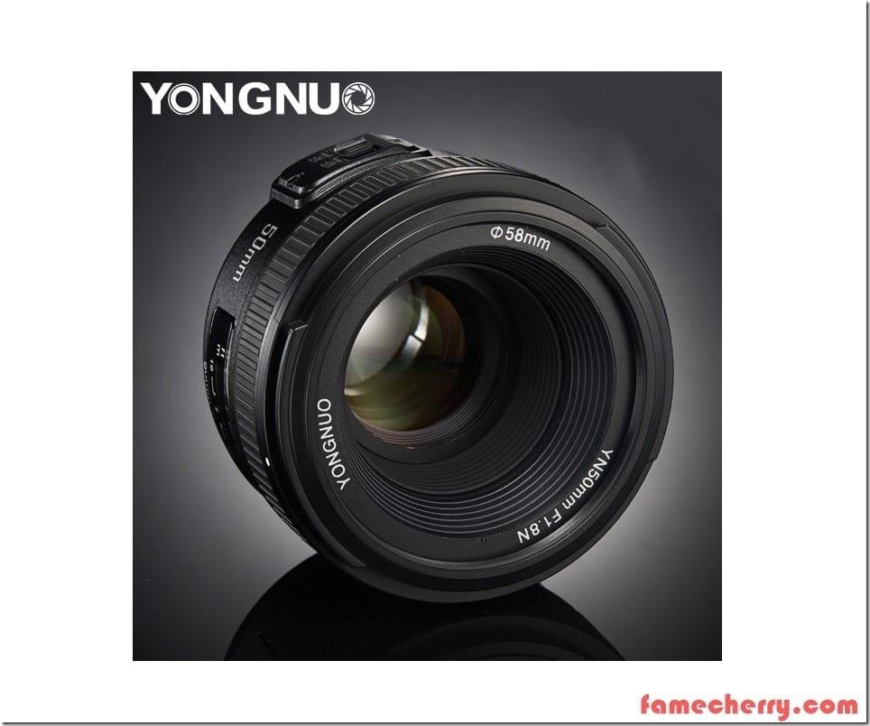 Yongnuo 50mm f1.8 Nikon Malaysia
