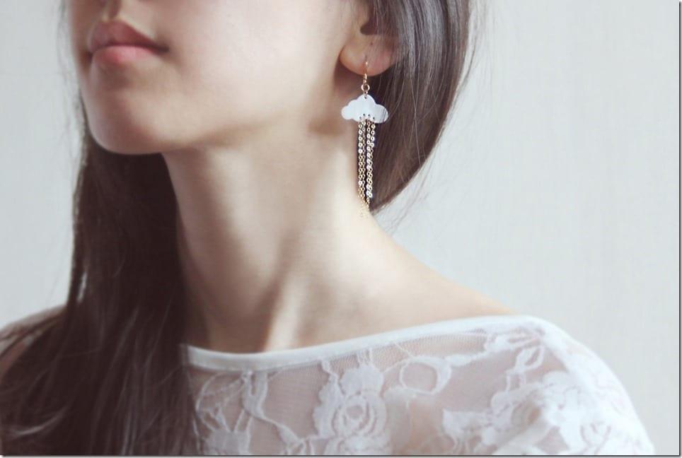 Cloud Earrings Jewelry Inspo