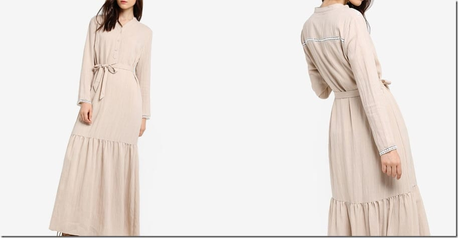 flowy-beige-maxi-peasant-dress