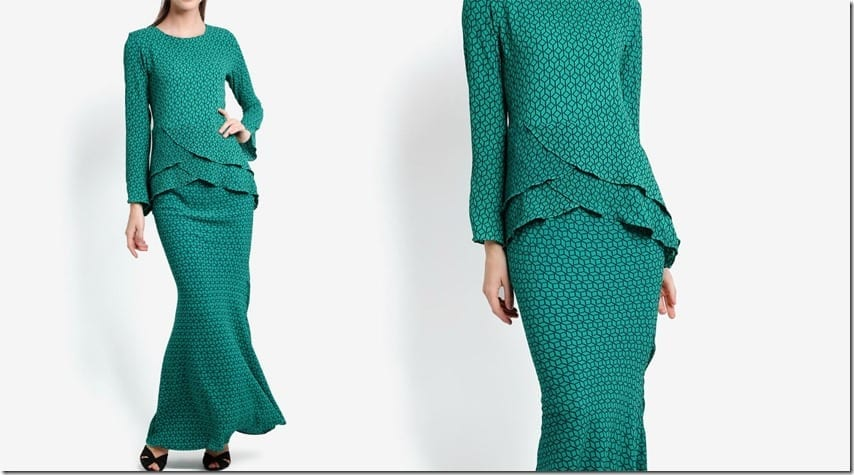 green-criss-cross-midi-kurung