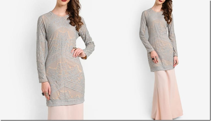 grey-lace-long-sleeve-modern-kurung
