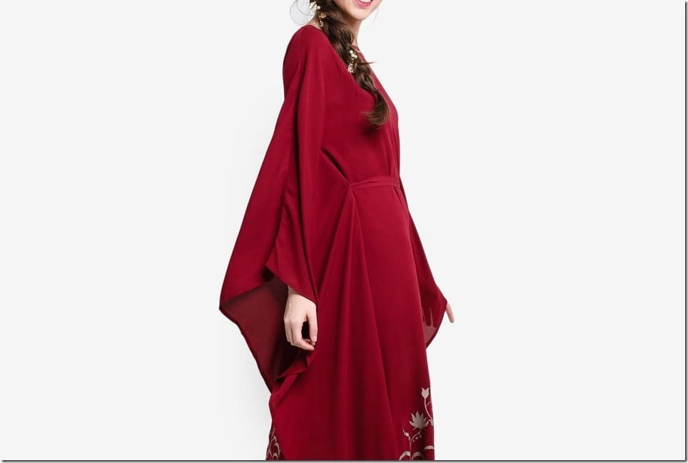 Long Kaftan Dress Ideas For Your Raya 2017 Party Wardrobe