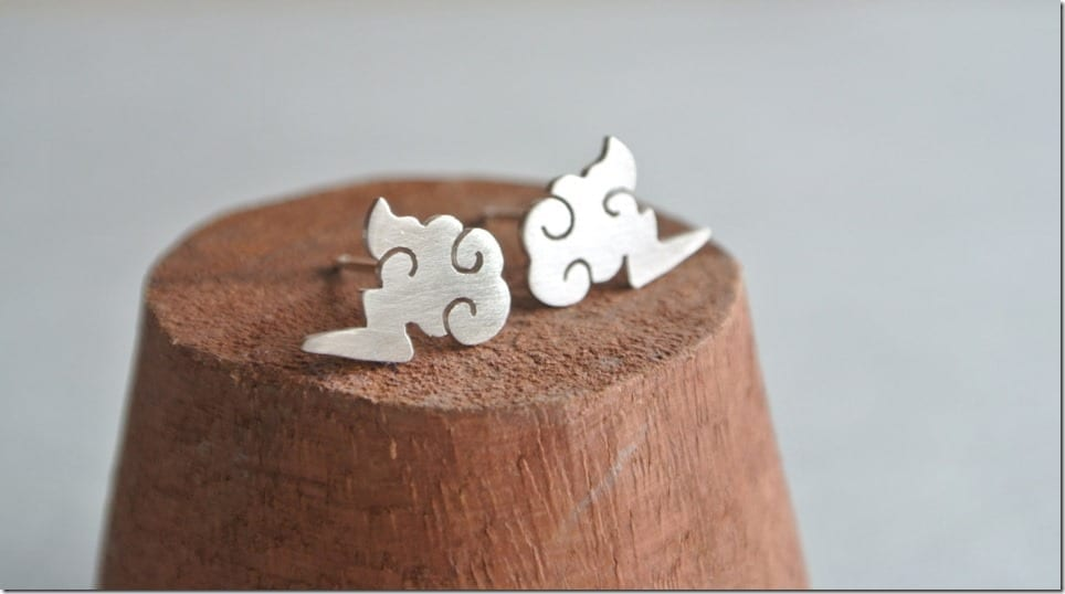 lightning-cloud-stud-earrings