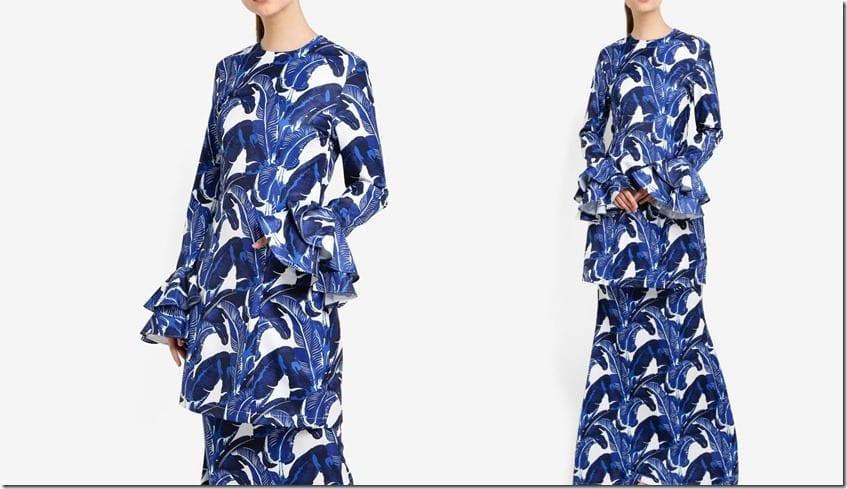 midnight-blue-banana-print-kurung