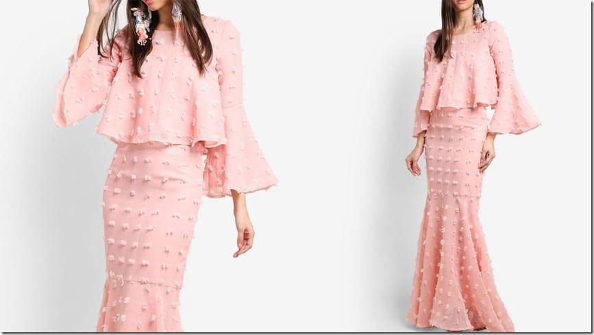 pink-pom-pom-crop-flare-sleeve-kurung