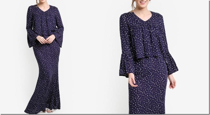 polka-dot-navy-gathered-empire-kurung