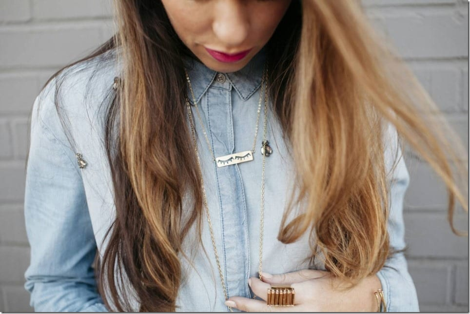 Eyelash Earrings And Necklaces ~ Quirky Jewelry Inspo