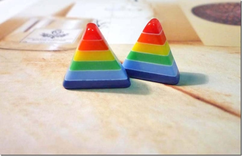 rainbow-triangle-stud-earrings