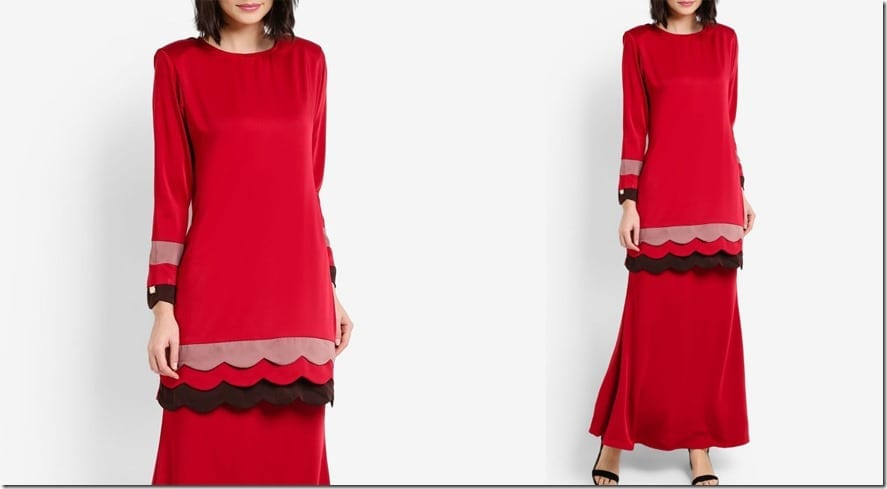 red-scallop-baju-kurung