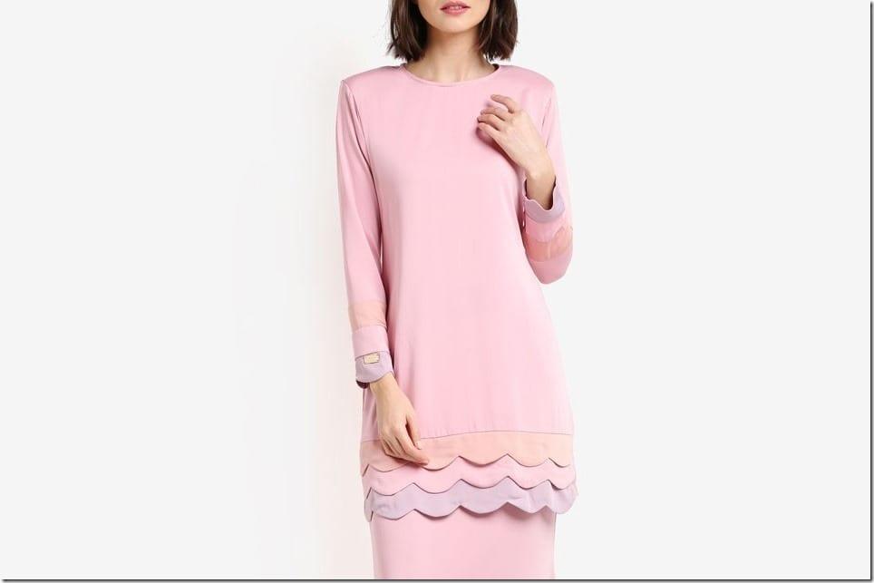 Baju Raya 2017 ~ The Scallop Kurung Style