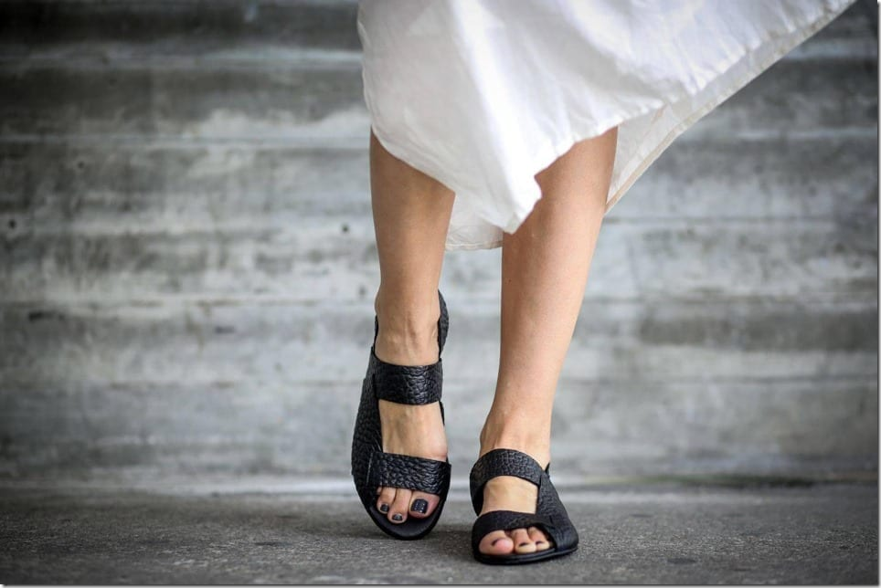 slip-on-black-strappy-leather-sandals