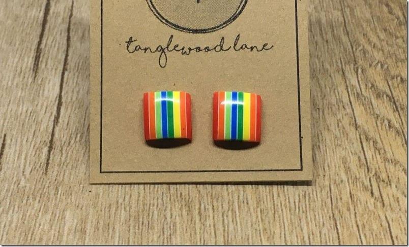square-rainbow-stud-earrings