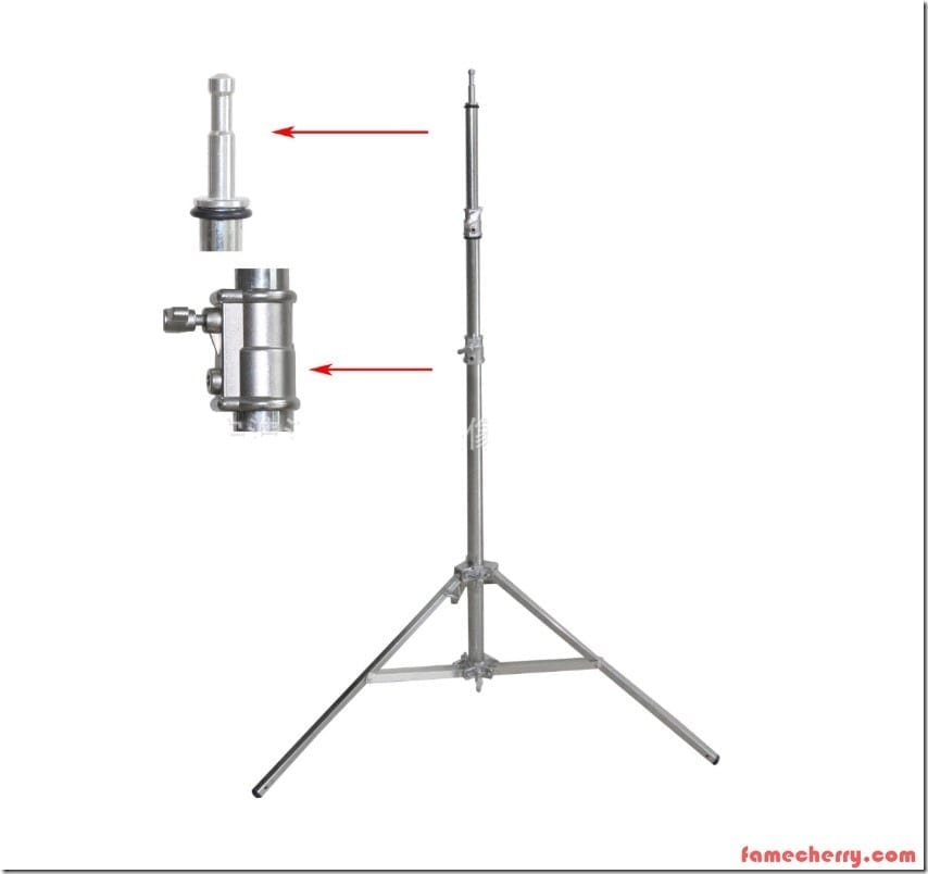 Bethel Very Heavy Duty Light Stand 3.8m Malaysia