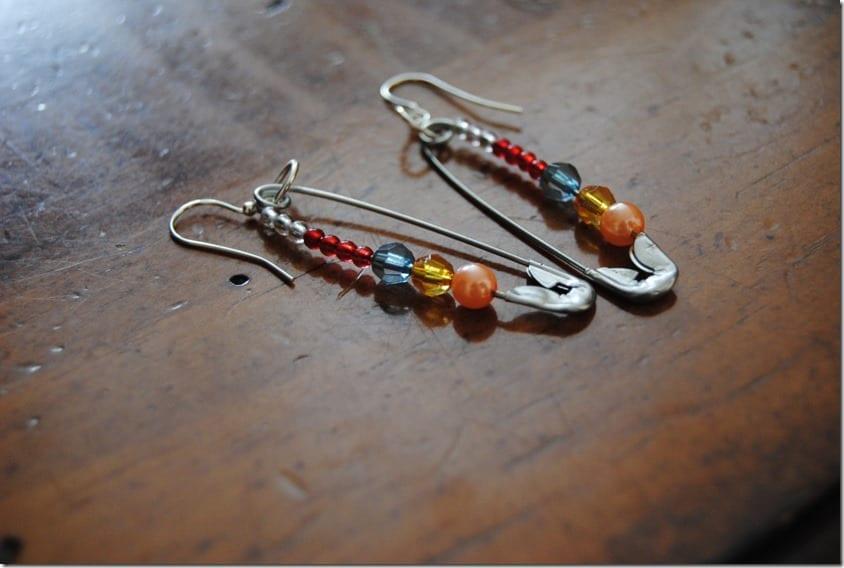 beaded-safety-pin-dangle-earrings