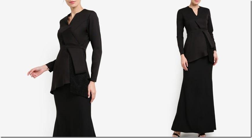 black-bow-statement-modern-kebaya