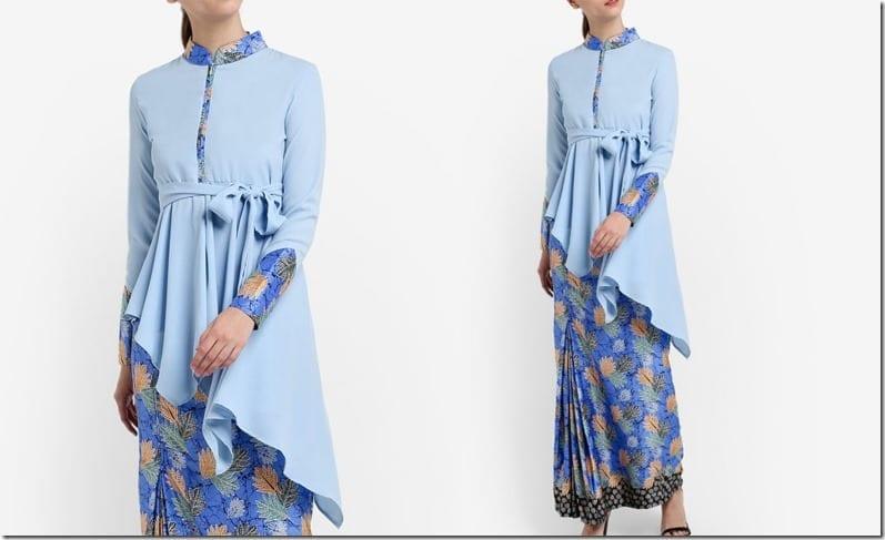 blue-mandarin-collar-batik-kurung