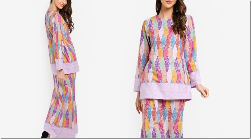 colorful-purple-songket-print-mod-kurung