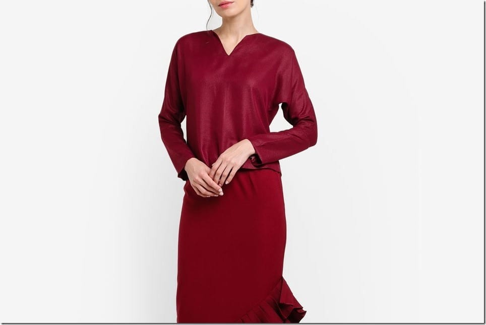 Raya-Worthy Elegant Mod Kurung Styles With REGULAR Sleeves