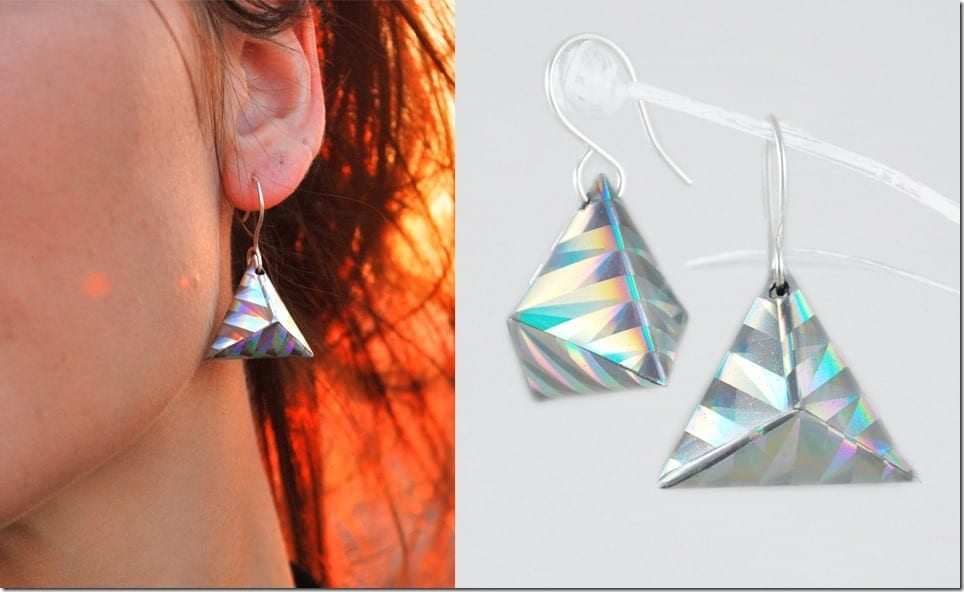 Get Festival-Ready Wearing Holographic Jewelry By edelconfetti