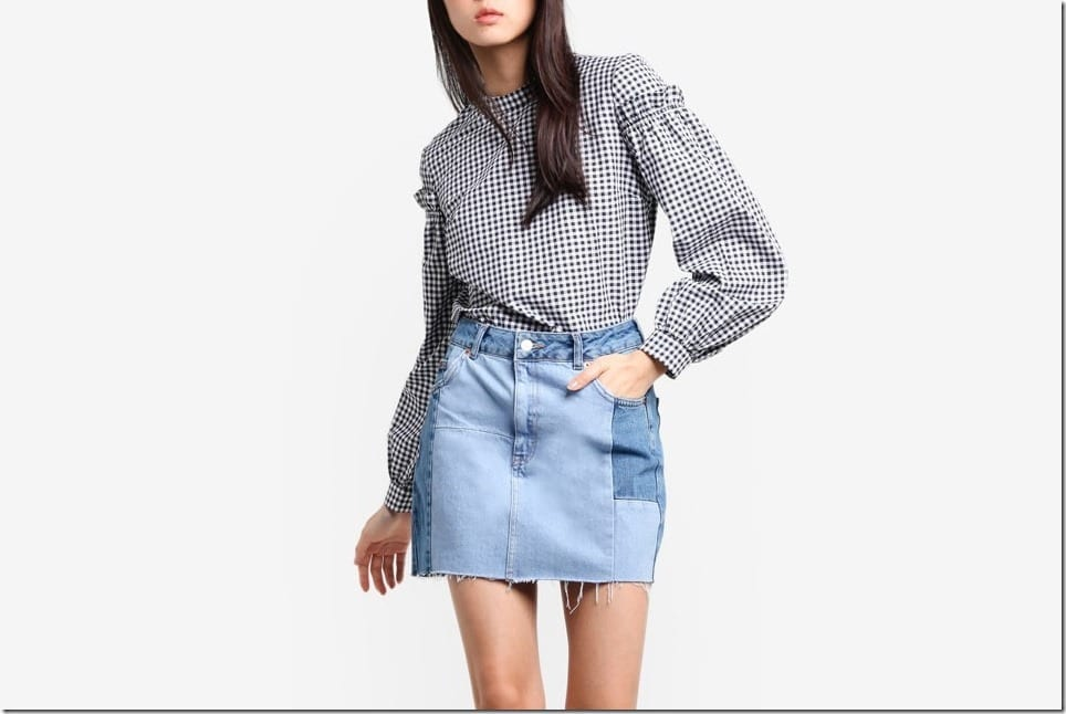 The Gingham Blouse Styles To Have In Your Closet