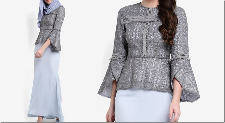 grey-lace-dip-hem-peplum-top