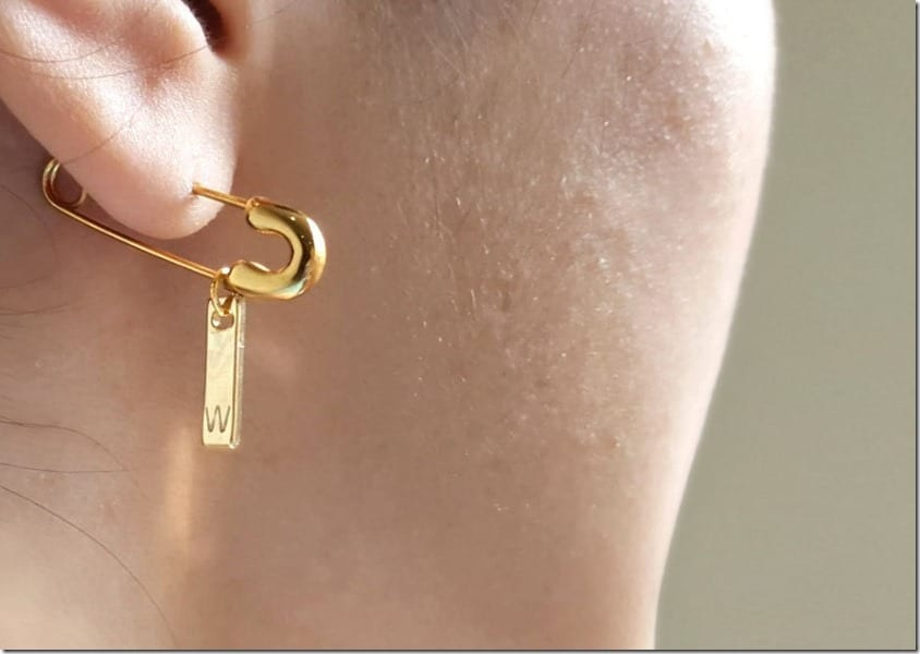 initial-safety-pin-earring